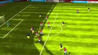 FIFA 14 iPhone/iPad - FC GahsA vs. Manchester Utd