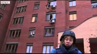 BBC News   Ukraine crisis  ;Indiscriminate shelling ; in Donetsk