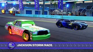 Cars 3: Driven to Win (PS4) - Chick Hicks vs. Jackson Storm (Hard Mode)