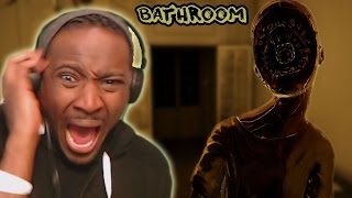 NEVER PLAY A JAPANESE HORROR GAME || BATHROOM Demo [ Petrifying Japanese Horror Game ]