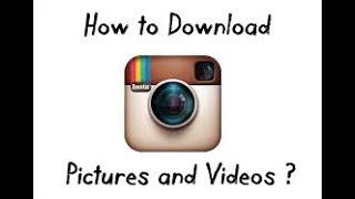 How to instagram picture dawonlod