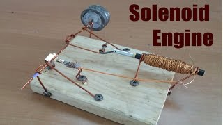 How to make Solenoid Engine open fram | Tutorial