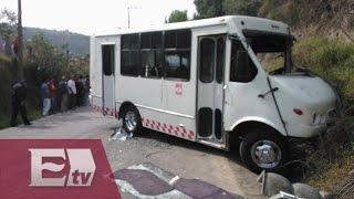 Choque vial en Naulcapan, Edomex, deja dos muertos y 15 heridos/ Paola Virrueta