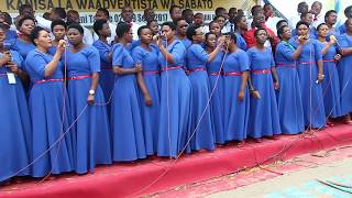 Kurasini SDA Choir - LIVE PERFORMANCE 03 (KIWEWE)