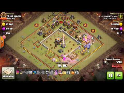 MauMe|| TH11 || 3 Stars War || Bowler Witch | Clan VNN #27