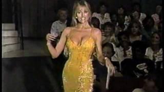 Dian Parkinson - Gold Gown