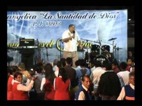 Pastor Jorge Mariscal Predicando en la Campaña de La Misión La Santidad de Dios 3ra. Parte