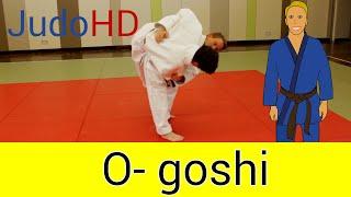 Gelb: O- goshi [Judo]