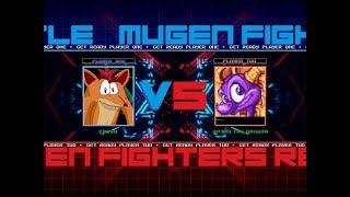 [mugen] fight n3: Crash (me) vs Spyro