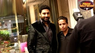 Abhishek Bachchan Unsatisfied With His Role In