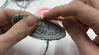 How to Crochet: Basic Baby Shoe Sole