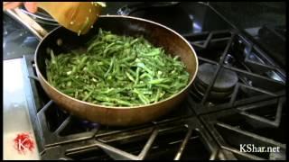 Kookoo Lubia | Persian Green bean omelette | کوکولوبیا