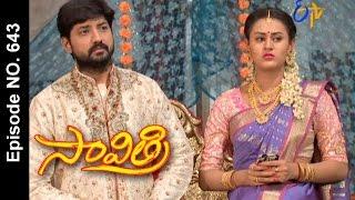 Savithri |24th April 2017 | Full Episode No 643| ETV Telugu