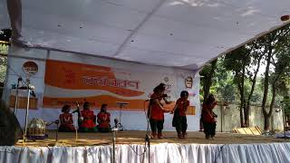 Pohela boishakhe nupur culture academy dance performance national bangla Shcool a