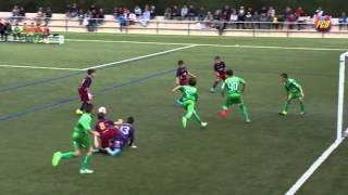 FC Barcelona Masia-Academy: Spectacular goal (Aleví A vs Cornellà)