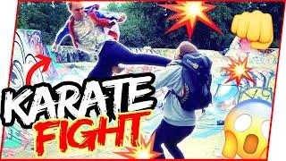 KARATE NERD in STREET FIGHT | Jesse Enkamp vs. 5 Thugs