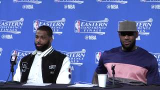 NBA Playoffs [ECF] Game 3: LeBron James - Better to lose a game now