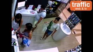 Кражба в мол в София