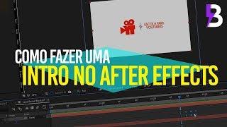 COMO FAZER UMA INTRO LOGO REVEAL no AFTER EFFECTS ft. ESCOLA PARA YOUTUBERS