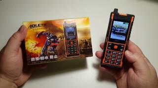 Land Rover Phone power bank Aole 2 sim gps waterproof  IP67 Армия Сотовый Телефон