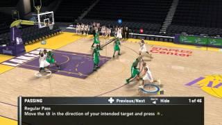 NBA 2K11 video driver clitch