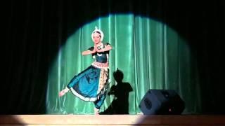 Odissi dance, mangalacharan