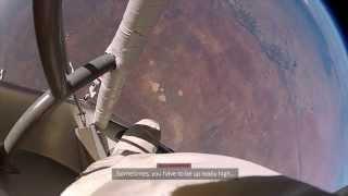 Uzaydan atlayan adam yeni Şok görüntüleri 3D Format