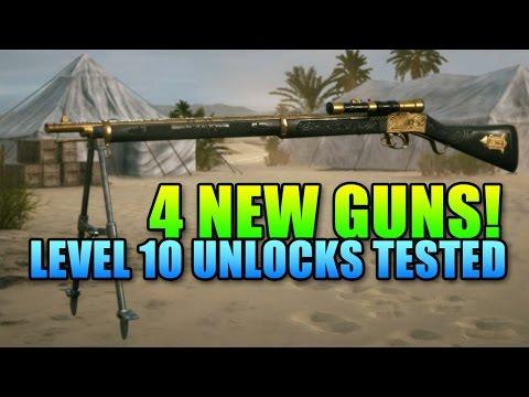 All 4 New Level 10 Guns Tested 120 Round Hellriegel Defensive Battlefield 1