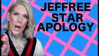 JEFFREE STAR COSMETICS APOLOGY