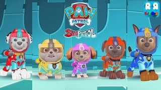 PAW Patrol Air and Sea Adventures - Swim with All Paw Patrol Marshall, Rubble, Skye, Zuma and Chase