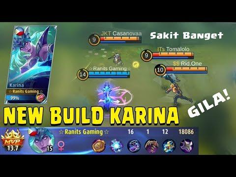 Xxx Mp4 New Build Karina Yang Ini Sakit Banget Amp Kuat Darah Untuk Lawan 1 Vs 5 Mobile Legends Gameplay 3gp Sex