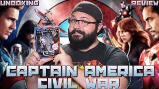 Captain America: Civil War 3D Bluray Unboxing & Review | BLURAY DAN