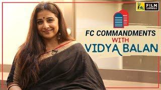 Vidya Balan | FC Commandments | Tumhari Sulu