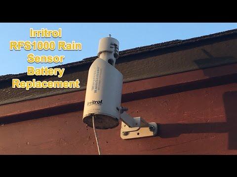 Irritrol Rain Sensor Battery Replacement RFS1000 CR2032