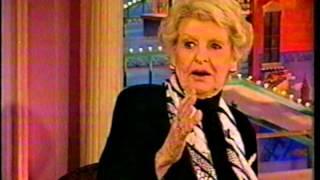 Elaine Stritch Interview: Rosie O'Donnell Show 2002