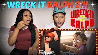 """""""Ralph Breaks The Internet: Wreck-It Ralph 2"""" Official Teaser Trailer REACTION!!!"""