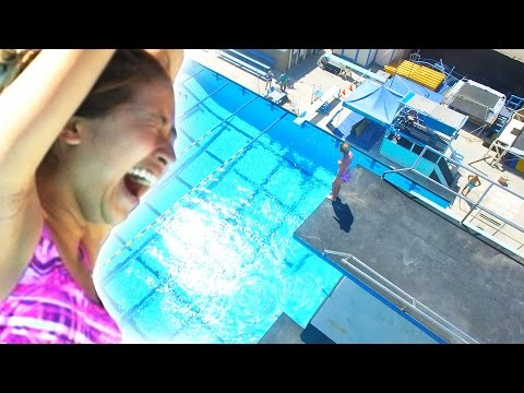 Regular People Get Tricked Into Olympic High Diving