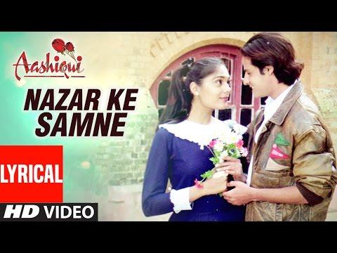 Xxx Mp4 Nazar Ke Samne Lyrical Video Aashiqui Kumar Sanu Anuradha Paudwal 3gp Sex