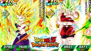 SHE CAN COUNTER ATTACKS?! SSJ2 CAULIFLA + KALE ANALYSIS + SUPER ATTACKS! | DBZ Dokkan Battle