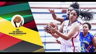 LIVE 🔴 - Egypt v Cape Verde - FIBA U18 Women