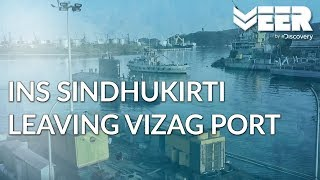 Indian Submariners E4P1 - INS Sindhukirti Leaving Vizag Port | Breaking Point | Veer by Discovery
