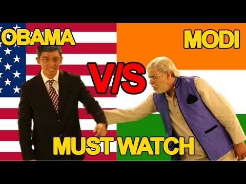 Xxx Mp4 Narendra Modi Vs Barack Obama Rap Battle Shudh Desi Raps 3gp Sex