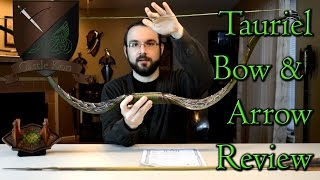 Bow and Arrow of Tauriel Review United Cutlery Hobbit - Castle Kon