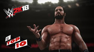New Stunning Signatures & Flattening Finishers!: WWE 2K18 Top 10