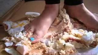 Birthday Cake, barefoot crush