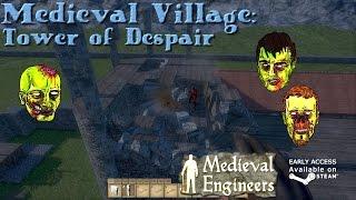 Medieval Engineers - Village part 8