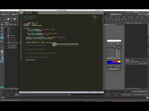 Xxx Mp4 Basic Auto Rigging In Maya With Python Part 1 3gp Sex