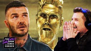 The David Beckham Statue Prank