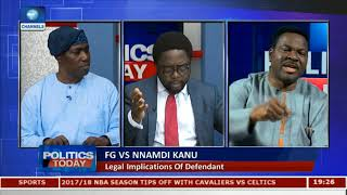 FG Shouldn't Have Invaded Kanu's Home Through The Military - Ozekhome |Politics Today|