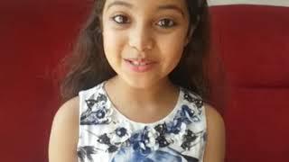 8 years old Wonder Girl Ayat Shaikh